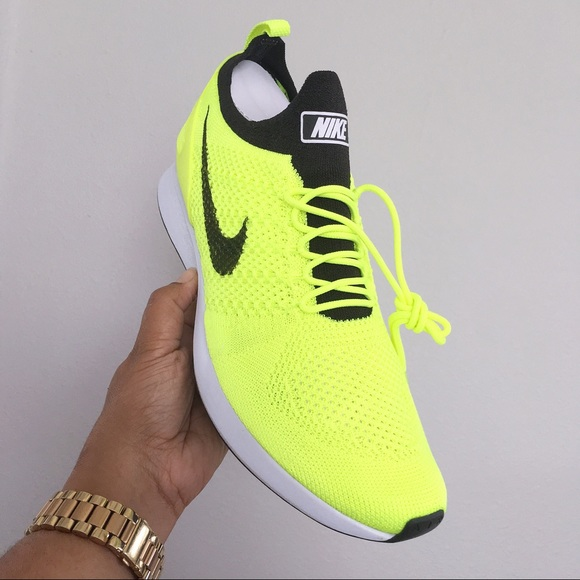 factory price e3534 7f0fb Nike Air Zoom Mariah Flyknit Racer Volt Men 11